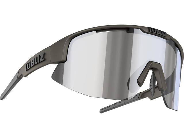 Bliz Matrix M12 Glasses camo green/smoke/silver mirror